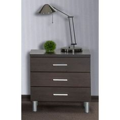 VIG Furniture Modrest3 Drawer Nightstand