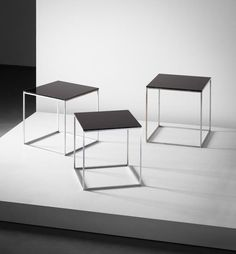 View Set of three nesting tables, model no. PK 71 by Poul Kjærholm sold at Design Day Sale on London Day Sale 28 April 2015 Learn more about the piece and artist, and its final selling price
