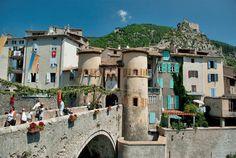 Porte Royale à Entrevaux # Alpes-de-Haute-Provence #decorspaca