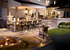 Should You Install An Outdoor Fireplace Or Fire Pit?