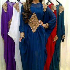Moroccan abaya Dubai white orange caftan kaftan bridal dress eid rhinestone
