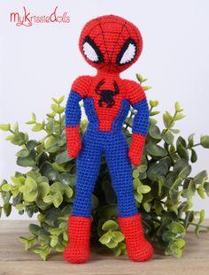 Spiderman (modificatie op patroon Krissie)