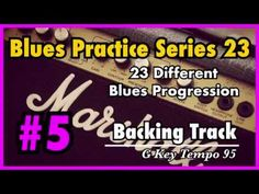 [Blues Practice Series Backing Track] - Blues Key : G Tempo : 95 Time Signature : Blues Rock Ballad Electric Clean Guitar, Bass and Dru. Kind Of Blue, Backing Tracks, Rhythm And Blues, Soloing, Blues Rock, Guitars, Sheet Music, Youtube, Guitar
