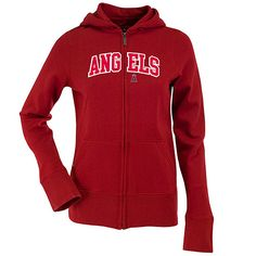 Los Angeles Angels of Anaheim Women's Applique Signature Hood by Antigua: $69.99