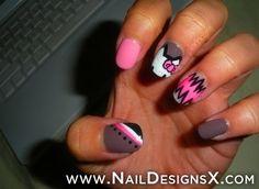 Hello kitty 20 nail art