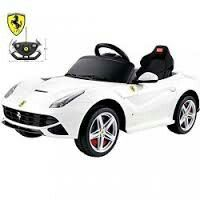 Best Ride On Cars Ferrari Battery Powered Car Color: White Ferrari 2017, Ferrari 488, Lamborghini, Toddler Car, Ae86, Car Colors, Ride On Toys, Car Painting, Electric Cars