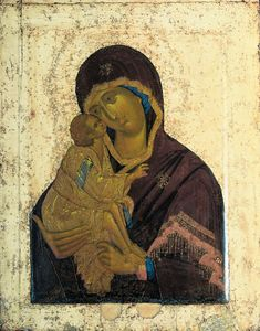 Catechesis Flows from Byzantine Marian Spirituality - PART 2 (Marian Mariology) by Brother John M. Is There a Byzantine Mariology? Researching this question leads to a seeming paradox. Russian Icons, Russian Art, Catholic Doctrine, Christianity, Where In The Bible, Lady Of Lourdes, Russian Orthodox, Byzantine Art, Madonna And Child