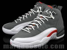 e10daecffee8 Air Jordan 12 Womens Official 130690 012 Air Jordan XII GS Cool Grey Team  Orange White