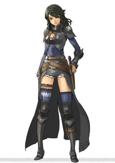 Kaeli (similar to battle gear)