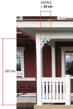 Porch Stairs, Porch Columns, Balcony Railing, Porch Brackets, Home Porch, Decks And Porches, House Extensions, Woodworking Techniques, Wooden House