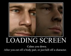 Heavy Rain Loading Screens by ~FluffyPocket on deviantART