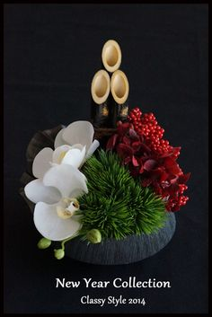 floral new york style Ikebana Flower Arrangement, Beautiful Flower Arrangements, Floral Arrangements, Beautiful Flowers, Deco Floral, Arte Floral, Floral Design, New Years Decorations, Flower Decorations
