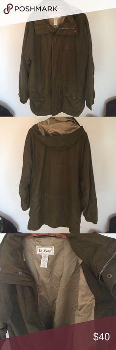 Mens L.L. Bean parka Super soft fall/ spring Mens parka. In good used condition L.L. Bean Jackets & Coats