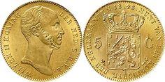 NumisBids: Schulman b.v. Auction 346, Lot 695 : KONINKRIJK DER NEDERLANDEN - WILLEM II 1840–1849 5 Gulden of gouden...