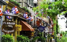 Quebec City's Best Hangouts, Approved by Locals. Tips for visiting Quebec City. Montreal Quebec, Quebec City, Canada Travel, Canada Trip, Chute Montmorency, Places To Travel, Places To Visit, Chateau Frontenac, Le Petit Champlain