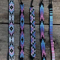 Bead loom bracelets: