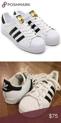 Adidas Women's Superstar Very lightly worn. Adidas Shoes Sneakers
