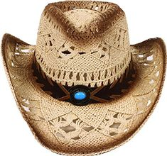 e8d8a0a9787 Check out our picks for the D Diana Dickson Classic Western Structured  Curved Brim Straw Cowboy Hat from ...