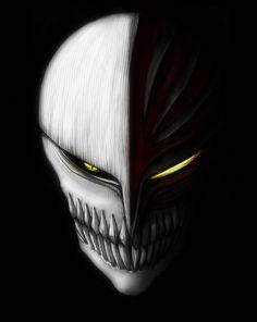 the mask by nooblar on DeviantArt Bleach Ichigo Hollow, Bleach Ichigo Bankai, Bleach Anime, Dragon Pictures, Skull Mask, Shinigami, Bungou Stray Dogs, Dark Art, Masquerade