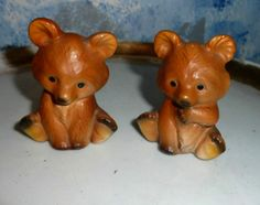 Sweet Baby Bears Salt and Pepper Shakers