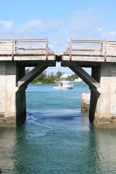 Somerset Bridge in Bermuda; the world's smallest drawbridge. .  Pin provided by Elbow Beach Cycles http://www.elbowbeachcycles.com