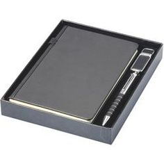 Journal Gift Set with Pen and USB. #giftset #journal #penandusb Writing Instruments, Corporate Gifts, Giveaways, Usb Flash Drive, Journal, Promotional Giveaways, Usb Drive