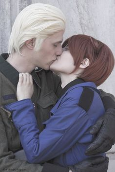 Amazing Gerita cosplay. I'M HAVING A HEART ATTACK OH MY GOSH THIS IS SO SWEET