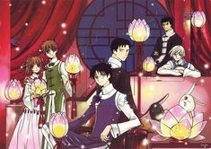 CLAMP, Production I.G, Bee Train, xxxHolic, Tsubasa Reservoir Chronicle