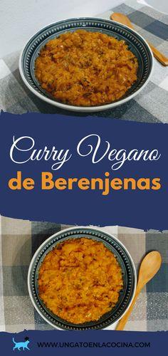 Curry Vegano de Berenjenas