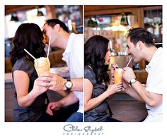 Engagement ice cream