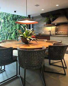 Outdoor Garden Bar, Home N Decor, Rooftop Terrace Design, Dining Room Design, Furniture Decor, Dinning Room, Small Balcony Decor, Dinner Room, Kitchen Furniture Design