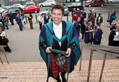 John Barrowman Photos - Torchwood star, John Barrowman, is awarded a Doctor of Drama from the Royal Scottish Academy of Music and Drama in Glasgow. Barrowman was honored along side Moira Anderson. ..UK PAPERS OUT Photograph: © Wattie Cheung. - John Barrowman at the Royal Scottish Academy of Music and Drama Academy Of Music, John Barrowman, Men In Kilts, Torchwood, What To Wear, Drama, Stars, Glasgow, Photograph