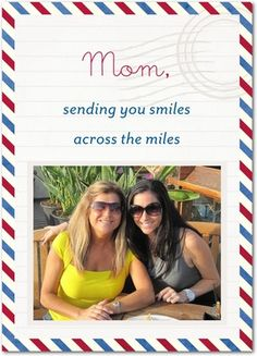Smiley Delivery: Mom - Mother's Day Greeting Cards - Magnolia Press - Light Gray - Gray : Front
