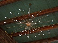 These vintage Lightolier Sputnik chandeliers in the Indoor Pool are my absolute favorites!   We have the latest e-cigarette models and a great variety of e-liquid flavors. Visit us at www.e-cigarilicious.com
