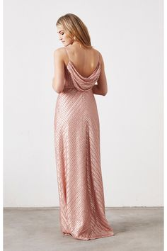 Florence Bridesmaid Dress in Gold