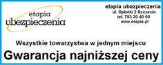 Etapia Ubezpieczenia - czyli jak kupić najtańsze ubezpieczenie w Szczecinie