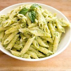 Healthy Dinner: Nut-Free Broccoli Pesto Pasta