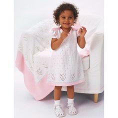 Free Intermediate Baby's Blanket Knit Pattern