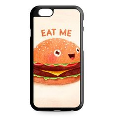 Eat Me Burger iPhone 4/4S/5/5S/5C/6/6S/6+/6S+ Heavy Duty Case