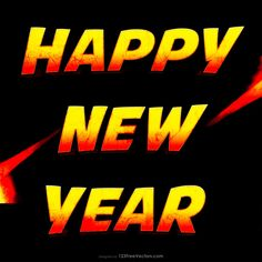 Free Fire Happy New Year Poster Happy New Year Hd, Happy New Year Banner, Happy New Year Design, Happy New Year Images, New Year Greeting Cards, New Year Greetings, New Years Poster, Vector Free Download, Banner Design
