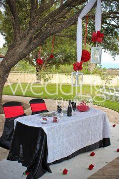 Outdoor Wedding At Los Patios Tablescapes Http://www.ldoweddings.com/