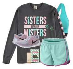 """""""Studying for finals! Day((18))"""" by sydneerees ❤ liked on Polyvore featuring NIKE, Kendra Scott, Pusheen, Kate Spade and 30DaysOfChristmas2k16"""