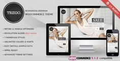 Trego – Multi Purpose Ecommerce Theme, it is a powerful multi-purpose theme with an advanced admin panel and WooCommerce oriented.