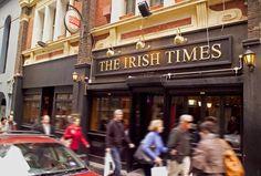 The Irish Times Pub Sign in Melbourne   Danthonia Designs. See more at www.danthoniadesigns.com