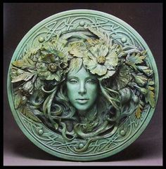 Image result for green man green woman