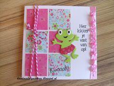 Kwaaak! Homemade Greeting Cards, Marianne Design, Simon Says, Baby Cards, I Card, Cardmaking, Giraffe, Birthday Cards, Cricut