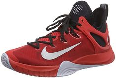 82d8d160693c1 nike zoom hyperrev 2015 mens hi top basketball trainers 705370 sneakers  shoes (uk 11 us 12 eu university red wolf grey black