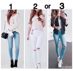 Pin by Vasworld on looks in 2019 Teen Girl Outfits, Teen Fashion Outfits, Basic Outfits, Mode Outfits, Simple Outfits, Look Fashion, Outfits For Teens, Stylish Outfits, Fall Outfits