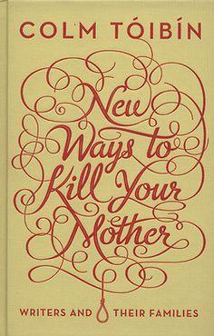 #typography #book #cover Great Steven bonner design!