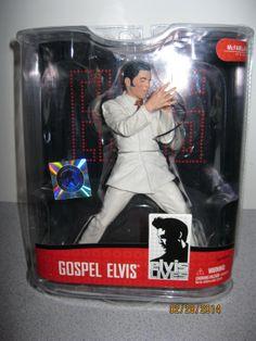 Gospel ELVIS LIVES McFarlane Figure New Sealed Toy Action Figure Elvis Presley